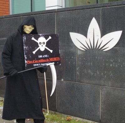 The Grim Reaper at the Imperial Tobacco office